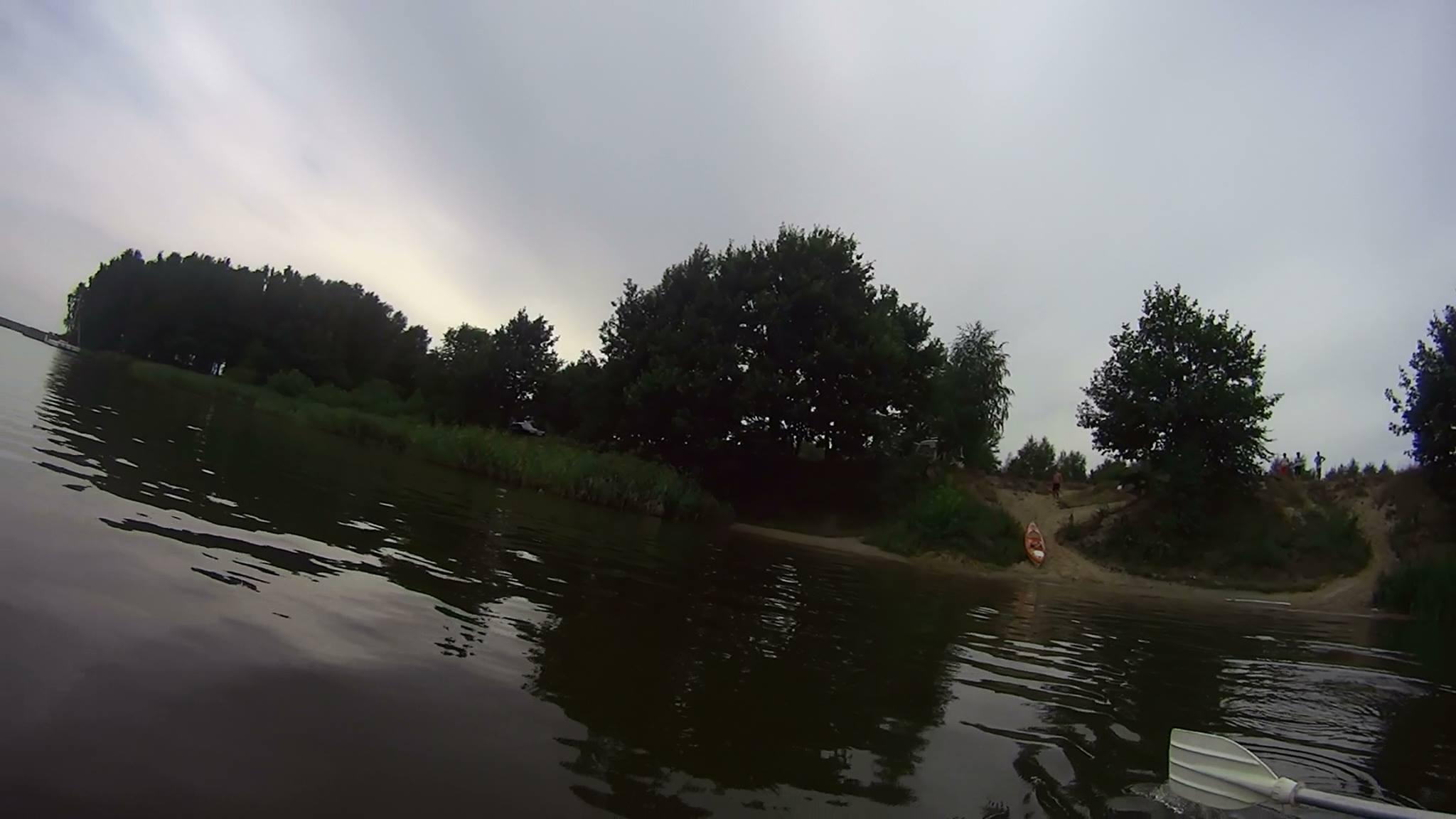 spływ kajakowy - rzeka